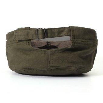 Men Women Adjustable Army Plain Baseball Hat Classic Cadet Military Sport Cap - 4