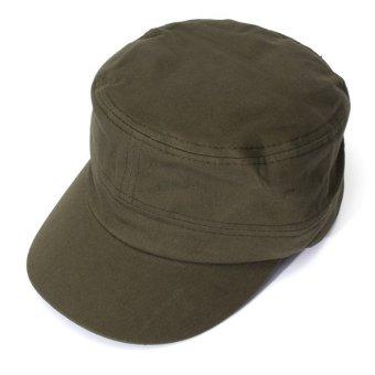Men Women Adjustable Army Plain Baseball Hat Classic Cadet Military Sport Cap - 2