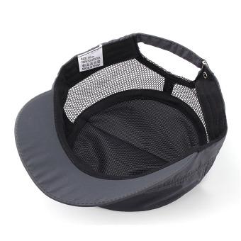 Men Women Army Plain Hat Sunshade Military Mesh Cadet Outdoors Baseball Flat Cap - 5