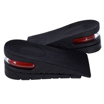 Men Women Shoe Insole Air Cushion Heel insert Increase TallerHeight Lift 5cm - intl