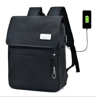 Men's Backpack Bag Brand Laptop Notebook for Men Waterproof Back Pack school backpack bag (black) - intl