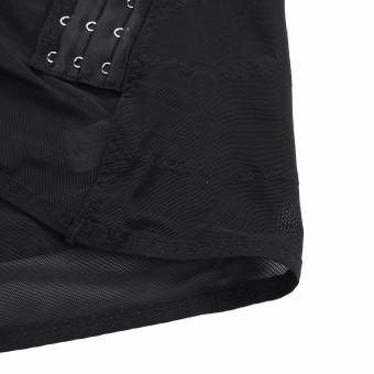 Men's Body Slimming Tummy Waist Belly Corsets Girdle Shapewear Underwear Shaper Black - 5