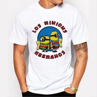 Men's Fashion Breaking Bad Shirt 2015 LOS POLLOS Hermanos T Shirt Chicken Brothers Short Sleeve Tee Hipster Hot Sale Tops - intl - 4