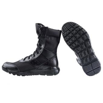 Men's LD Desert Boots,Lightweight Lace up Combat Boots Military Tactical Outdoor Men Boots - intl - 2