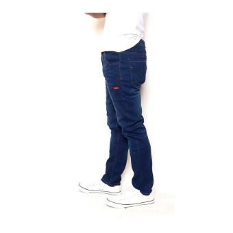 Men's Plain Saggy Pants Vintage Blue USA Style - 2
