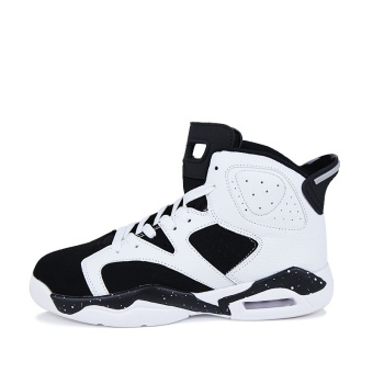 Men's Sport Fashion Basketball Shoes (black&white)(Export) - 2