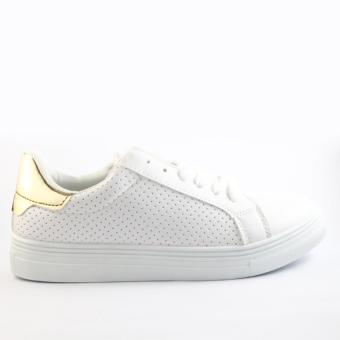 Mendrez Marie Sneakers (White/Gold) - 2