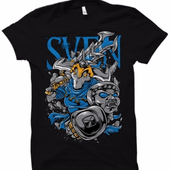 Men's DOTA 2 Sven T-Shirt (Black)