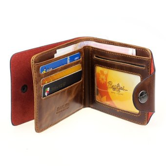 Mens Genuine Leather Bifold Wallet - picture 2
