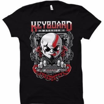 Men's Keyboard Warrior (DOTA2 or LOL) T-Shirt (Black) - 2
