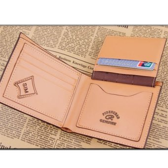 Mens Leather Wallets Male Purse Fashion Card Holders For Male - intl - 2