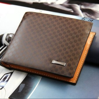 Mens Leather Wallets Male Purse Fashion Card Holders For Male - intl - 5