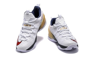 Mens Lebron XIII Low EP James 13 Basketball Shoes Olympic Gold - intl Price Philippines