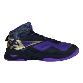 Men's PEAK Basketball Shoes Speed Eagle FIBA edition [Black/Purple]E43603BP1 - 2