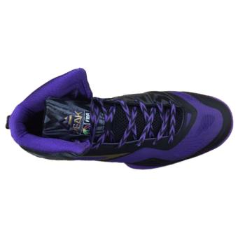 Men's PEAK Basketball Shoes Speed Eagle FIBA edition [Black/Purple]E43603BP1 - 3
