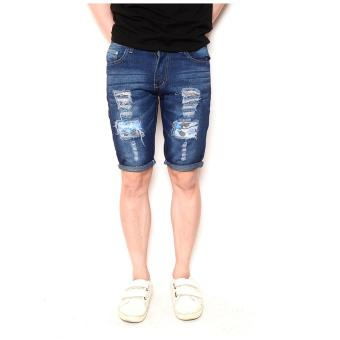 Men's Trending Tattered/Ripped Denim Swaggy Short