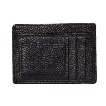Mens Wallet Credit ID Card Holder Black