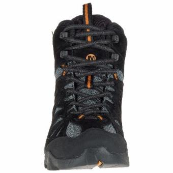 Merrell Capra Mid Waterproof (Black/Orange) - 4