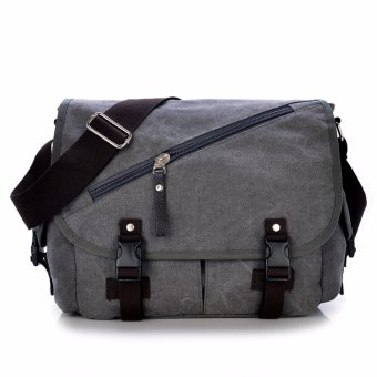 MESSENGER BAG / CANVASS BAG / MJH1079 PIERSON [GREY] Price Philippines