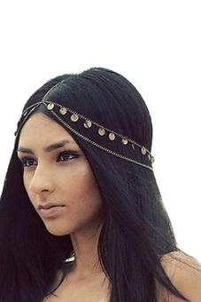 Metal Head Headband (Black)