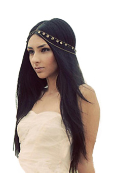 Metal Head Headband (Black) - picture 2
