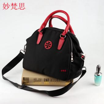 Miaosifan Womens Korean-style Nylon Shoulder Cross Body bags bag - Black