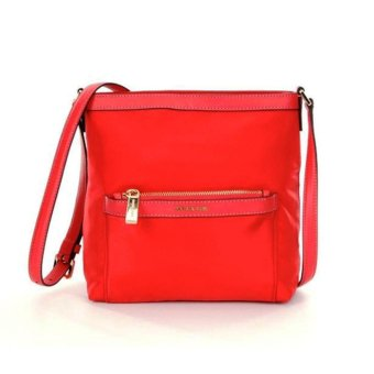 Michael Kors Morgan Medium Messenger Bag RED1