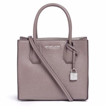 MICHAEL KORS STUDIO Mercer Leather Crossbody MEDIUM GRAY