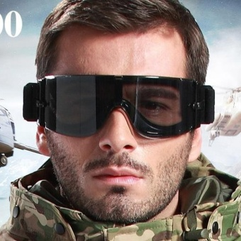 Military Airsoft X800 Tactical Goggles USMC Tactical SunglassesGlasses Army Paintball Goggles - intl