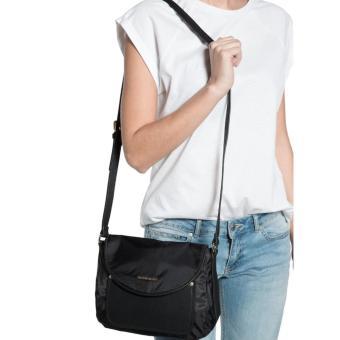 MNG Mango Nylon Crossbody Bag (Black) - 4