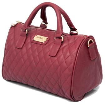 Seller MNG Mango Quilted Bowling Bag (Red) Price And Model