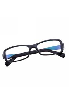 Moonar Clear Lens Rectangular Glasses Black