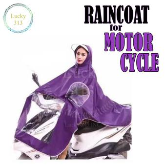 Motorcycle Raincoat Moto Rain Coat (Violet) Price Philippines