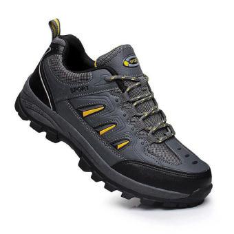 Mountaineering Sporty Men Sneakers - Grey