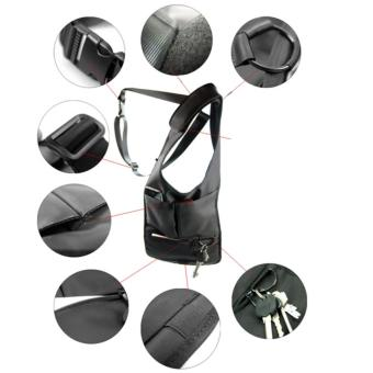 Multifunction Men's Anti-Theft Hidden Underarm Shoulder Bag Holster Black - 3