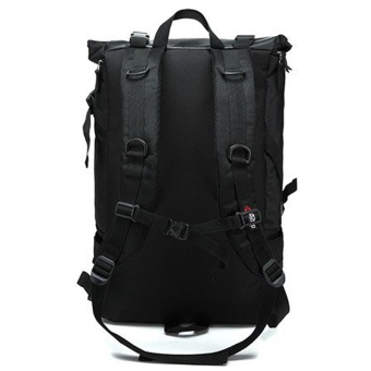 Munoor Men Backpacks Rucksack Business Travel 15.6inch Laptop Bag School College Bag Daypack (Black) - intl - 3