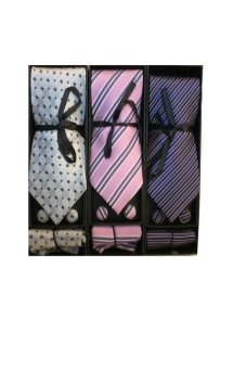 Necktie Gift Set Bundle of 3