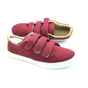 Neptune Grant Sneakers (Maroon) - 2