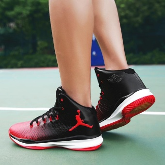 New Arrival Mens Basketball Shoes Breathable Outdoor Waterproof Sneakers for Men - intl - 2