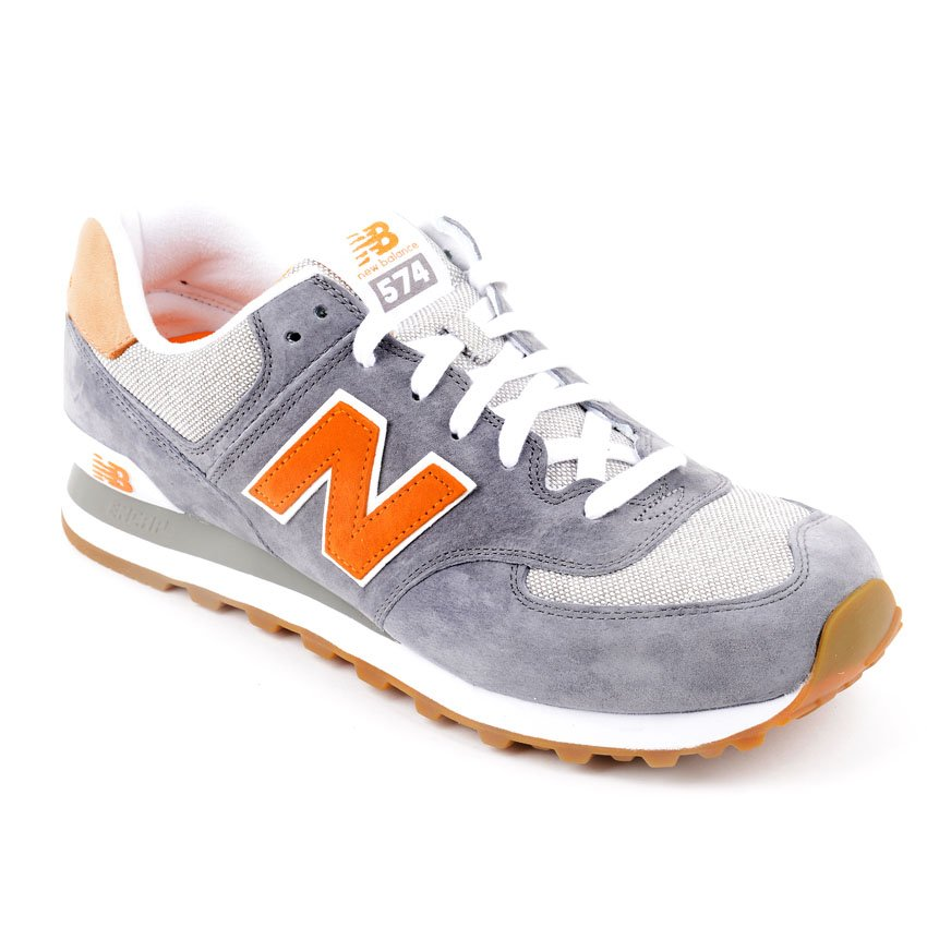 new balance grey orange
