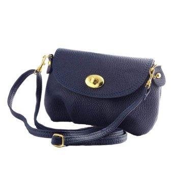 New Christmas Women's Bag Purses and Handbags Satchel Shoulder Leather Cross Body Bags Blue - Intl