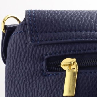 New Christmas Women's Bag Purses and Handbags Satchel Shoulder Leather Cross Body Bags Blue - Intl - picture 2