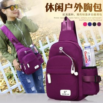New Cross Body Rucksacks Men's Messenger Back Pack Women Bottle Bags - intl - 2