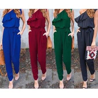 New Fashion Women Ladies Jumpsuit Romper Trousers - intl - 3