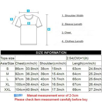 New Mens T Shirts Fashion 3D T Shirt Men Short Sleeve animalPrinted Men Casual tshirt male Creative Designed Shirts For Men - -Intl - 3