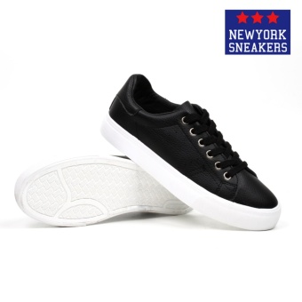 New York Sneakers Akate Low Cut Shoes(BLACK) - 3