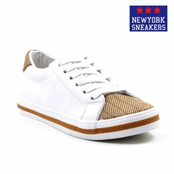 New York Sneakers Alix Low Cut Shoes(WHITE)