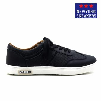 New York Sneakers Ethan Rubber Shoes(BLACK) - 2