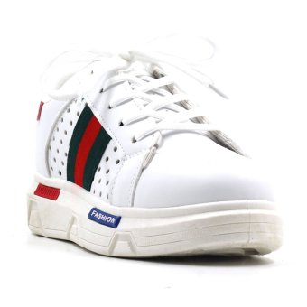 New York Sneakers GIRI Low Cut Shoes(White/Red) Price Philippines
