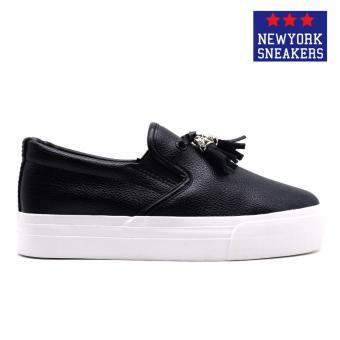 New York Sneakers Hayes Slip On Shoes(BLACK) - 2